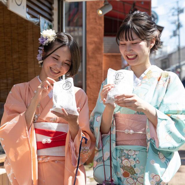 京都旅行の食べ歩きに